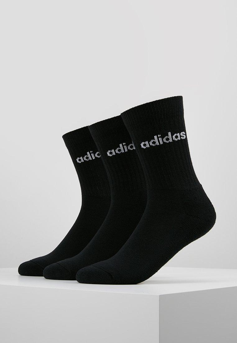 adidas Performance - CREW 3 PACK - Sports socks - black/white