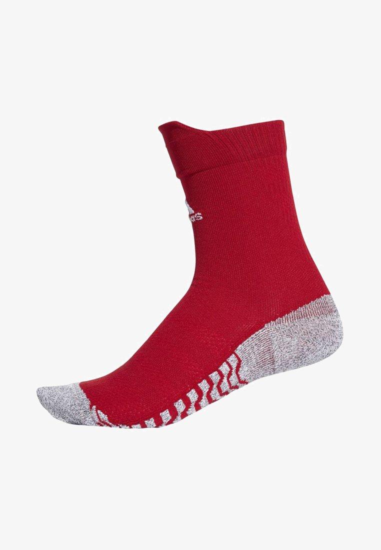 adidas Performance - Alphaskin Traxion Ultralight Crew Socks - Sportsocken - red