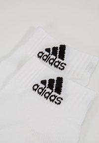 adidas Performance - CUSH ANK 3 PACK - Sportssokker - white - 2