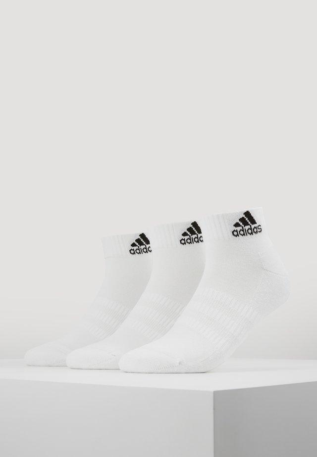 CUSH ANK 3 PACK - Urheilusukat - white