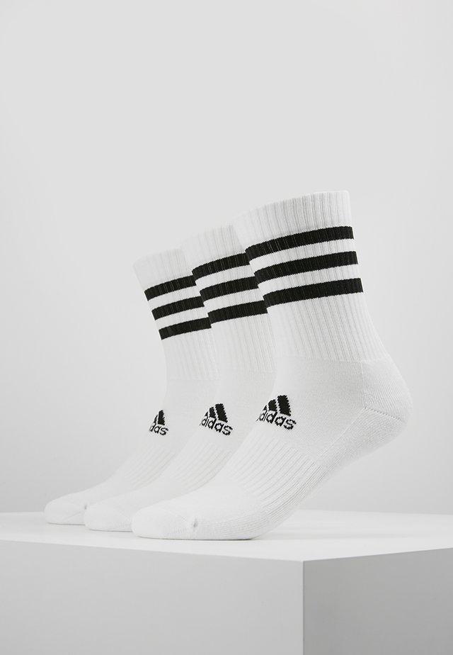 3 PACK - Urheilusukat - white
