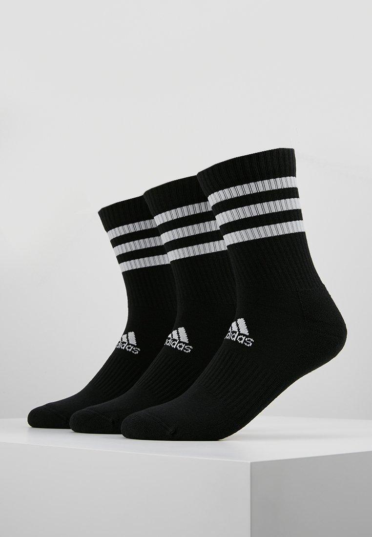 adidas Performance - 3 PACK - Calcetines de deporte - black
