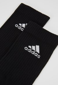 adidas Performance - CUSH 6 PACK - Urheilusukat - black - 2