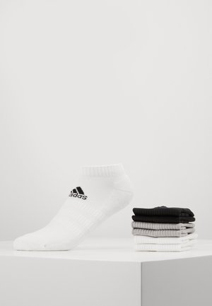 CUSH LOW 6 PACK - Trainer socks - medium grey heather/white