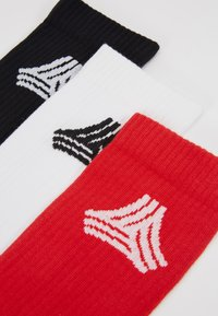 adidas Performance - SOCKS 3 PACK  - Calcetines de deporte - white/black - 2