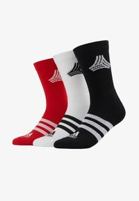 adidas Performance - SOCKS 3 PACK  - Calcetines de deporte - white/black - 1