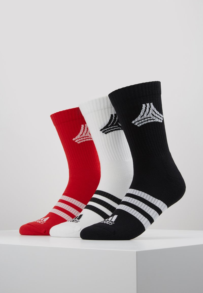 adidas Performance - SOCKS 3 PACK  - Calcetines de deporte - white/black