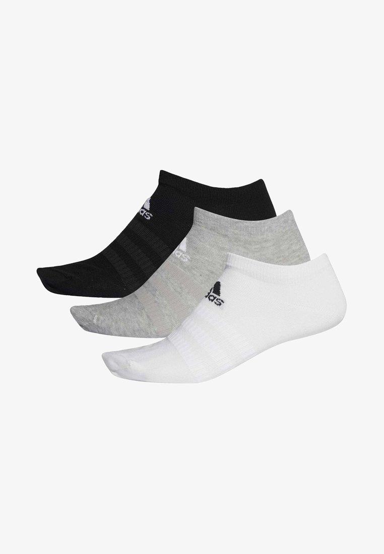 adidas Performance - 3 PAIRS - Enkelsokken - grey