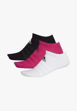 LOW-CUT SOCKS 3 PAIRS - Träningssockor - pink