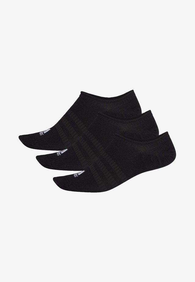 NO-SHOW SOCKS 3 PAIRS - Sports socks - black