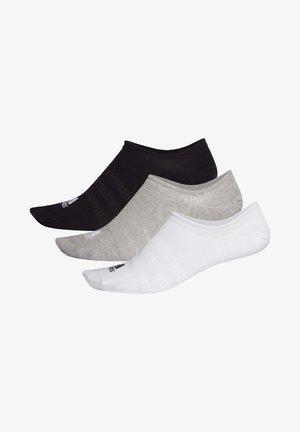 NO-SHOW SOCKS 3 PAIRS - Trainer socks - grey