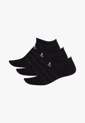 CUSHIONED LOW-CUT SOCKS 3 PAIRS - Stopki - black