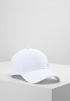 6PCAP LTWGT MET - Cap - white/white/black