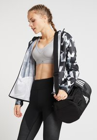 adidas Performance - Sports bag - black/grefou/white - 5