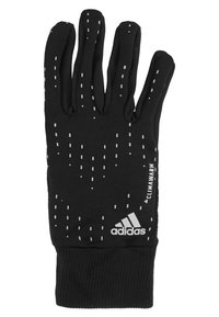 adidas Performance - RUN GLOVES - Gloves - black/black/silver - 3