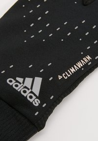 adidas Performance - RUN GLOVES - Gloves - black/black/silver - 5