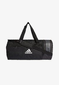 adidas Performance - CONVERTIBLE 3-STREIFEN - Sports bag - black/white - 0