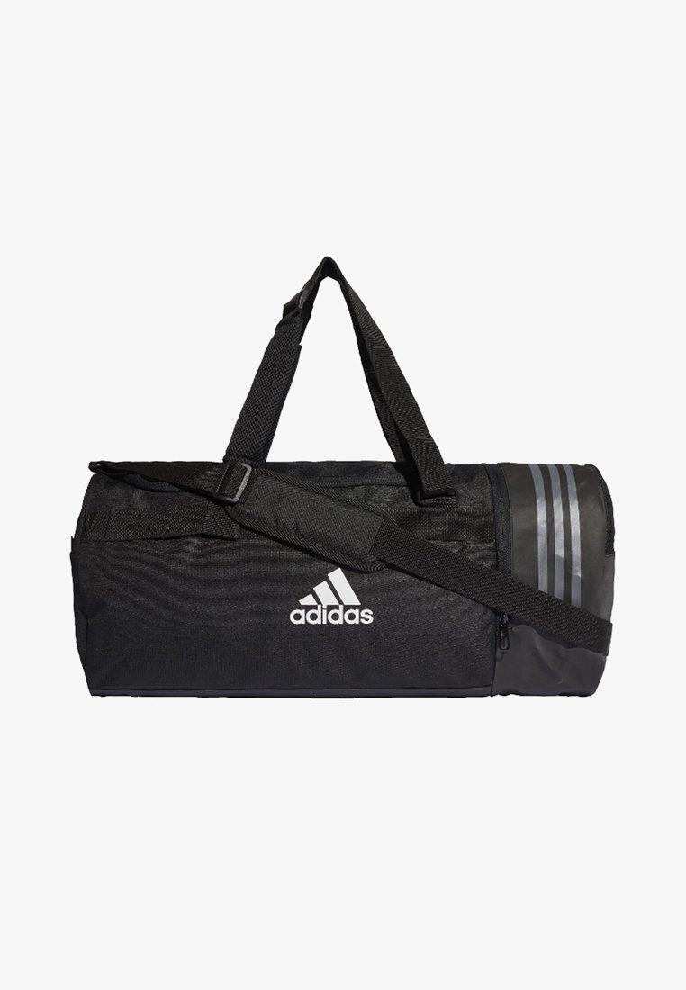 adidas Performance - CONVERTIBLE 3-STREIFEN - Sports bag - black/white