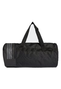 adidas Performance - CONVERTIBLE 3-STREIFEN - Sports bag - black/white - 1