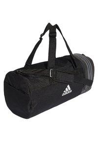 adidas Performance - CONVERTIBLE 3-STREIFEN - Sports bag - black/white - 2