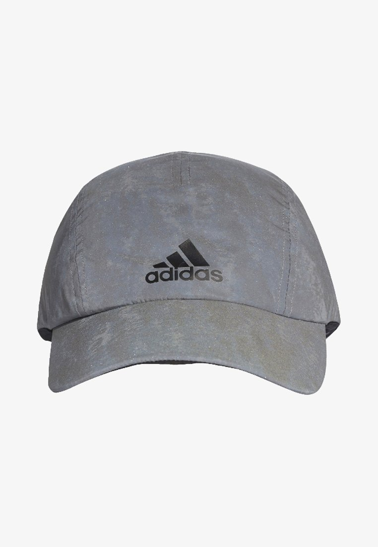 adidas Performance - Run Reflective Cap - Cap - grey/reflective silver/black