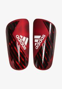 adidas Performance - X PRO - Schienbeinschoner - active red/black/off white - 1