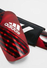 adidas Performance - X PRO - Schienbeinschoner - active red/black/off white - 5