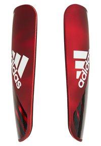 adidas Performance - X PRO - Schienbeinschoner - active red/black/off white - 3