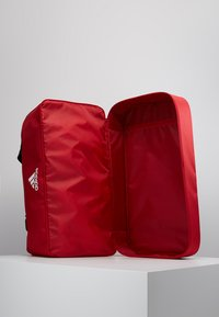 adidas Performance - TIRO DU - Sports bag - power red/white - 5