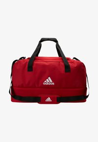 adidas Performance - TIRO DU - Sports bag - power red/white - 6