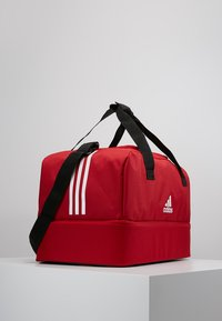 adidas Performance - TIRO DU - Sports bag - power red/white - 3