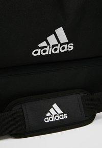 adidas Performance - TIRO DU - Sports bag - black/white - 7