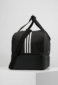 adidas Performance - TIRO DU - Sports bag - black/white - 3