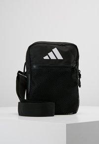 adidas Performance - PARKHOOD  - Schoudertas - black/black/white - 0