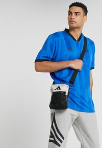 adidas Performance - PARKHOOD  - Taška spříčným popruhem - black/raw white/raw white - 1