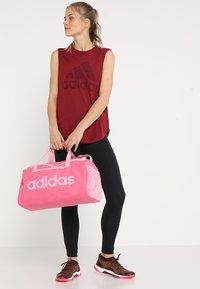 adidas Performance - LIN CORE  - Sports bag - semi solar pink/true pink - 5