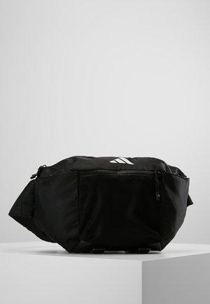 PARKHOOD  - Taška spříčným popruhem - black/black/white