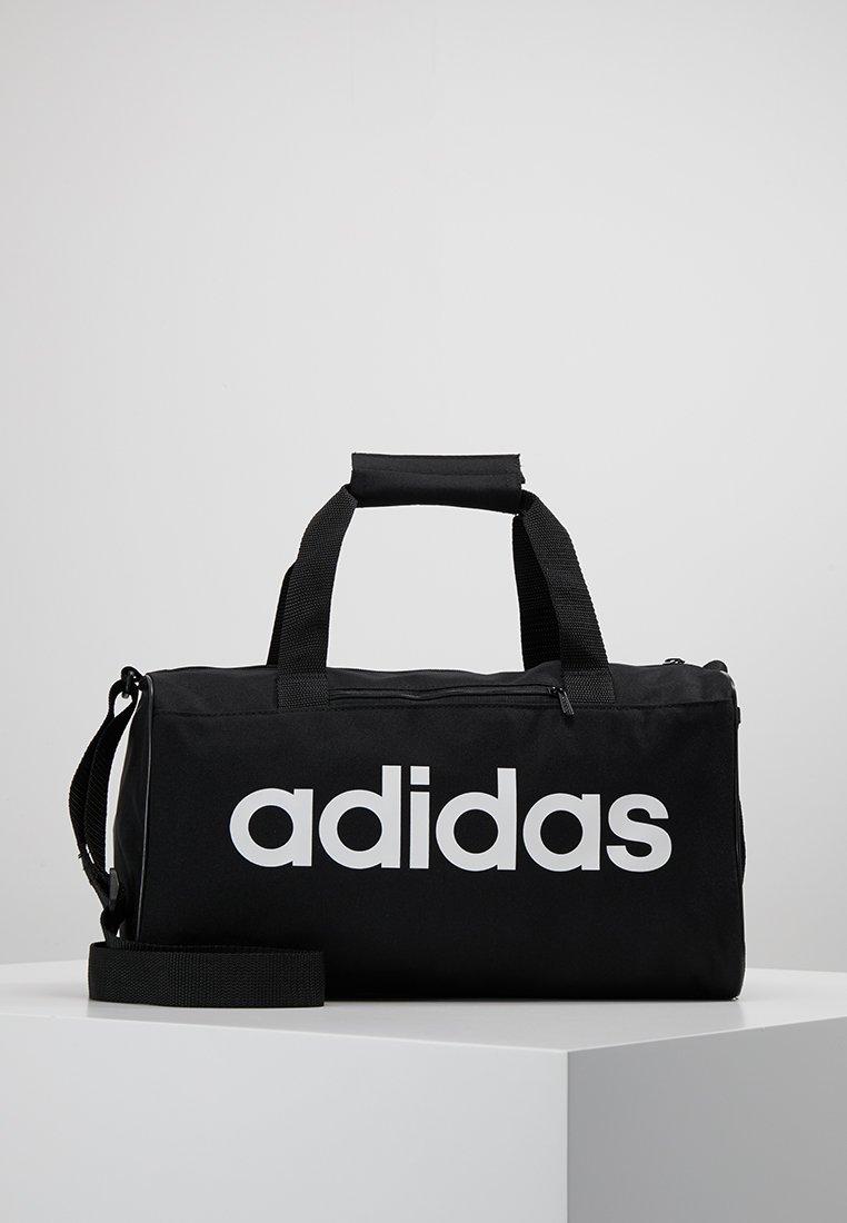 adidas Performance - LIN CORE - Sportovní taška - black/white