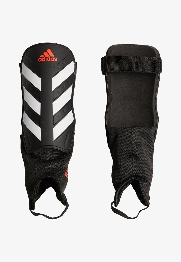 adidas Performance - EVERCLUB - Shin pads - black/red/white
