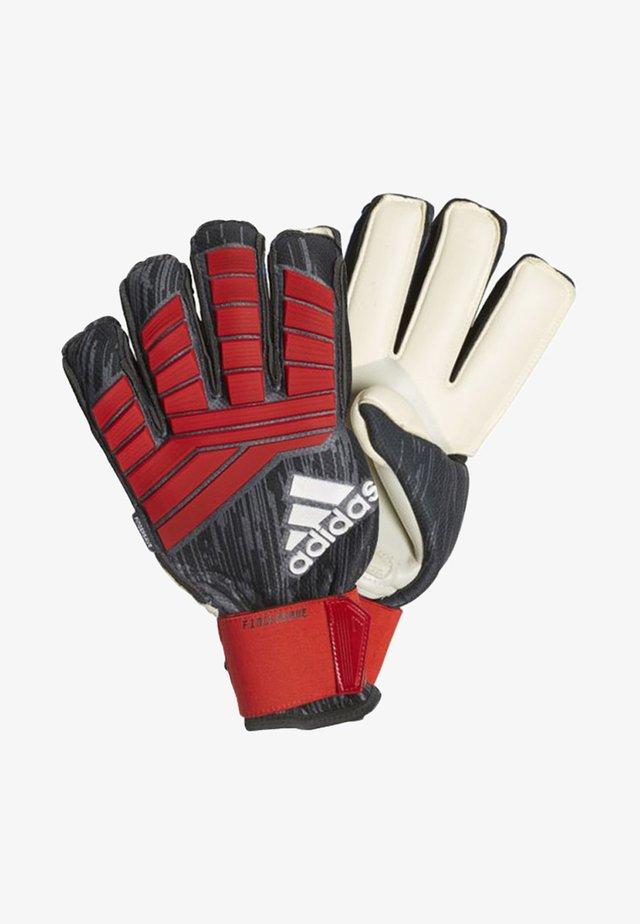PREDATOR PRO FINGERSAVE - Goalkeeping gloves - black/red/white