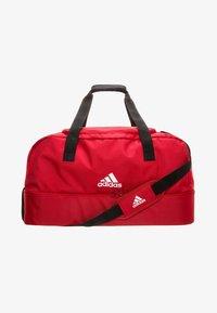 adidas Performance - TIRO DUFFEL LARGE - Sports bag - red - 0
