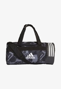 adidas Performance - 3-STRIPES CONVERTIBLE GRAPHIC DUFFEL BAG SMALL - Drawstring sports bag - black/white - 0