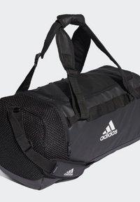 adidas Performance - CONVERTIBLE TRAINING DUFFEL BAG MEDIUM - Bolsa de deporte - black/white - 3