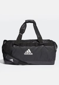 adidas Performance - CONVERTIBLE TRAINING DUFFEL BAG MEDIUM - Bolsa de deporte - black/white - 1