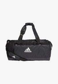 adidas Performance - CONVERTIBLE TRAINING DUFFEL BAG MEDIUM - Bolsa de deporte - black/white - 0