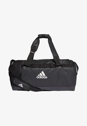 CONVERTIBLE TRAINING DUFFEL BAG MEDIUM - Sporttas - black/white