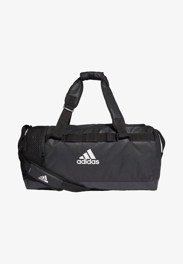 adidas Performance - CONVERTIBLE TRAINING DUFFEL BAG MEDIUM - Sports bag - black/white