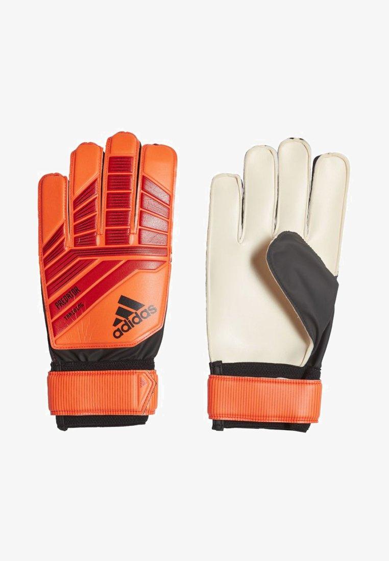 adidas Performance - PREDATOR TRAINING GOALKEEPER GLOVES - Rękawice bramkarskie - red/black/orange