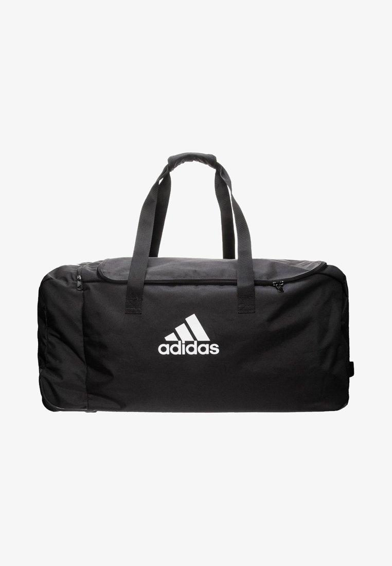 adidas Performance - TIRO WHEELED DUFFEL EXTRA LARGE - Sporttas - black/white
