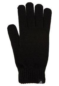 adidas Performance - PERF GLOVES - Fingervantar - black/black/medium grey smoked - 3